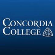 College comedian (Concordia College logo)