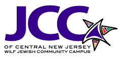 Comedy for senior citizens group in NJ (JCC of Central NJ's logo)