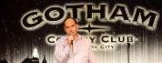 clean comic Shaun Eli on stage at NYC's Gotham Comedy Club